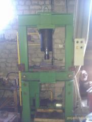 Пресс гидравлический (многофункциональный) 40 тонн