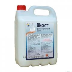 "Means for disinfection of hands ""Winsept..."