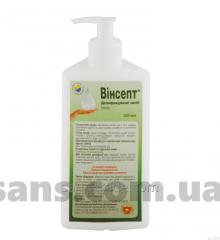 "Disinfectant ""Vinsept"" (gel), the plastic bottle 500 ml"