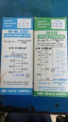 Трубки индикаторные для газоопределитель