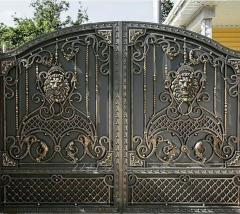 Кованые ворота двери и изделия