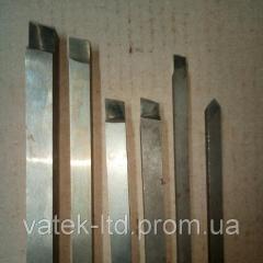 Резец проходной прямой ВК8 25х25х80 левый СССР