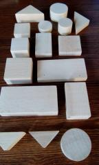 Набор геометрических фигур ( 16 елементов )