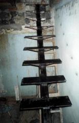 Каркас для пожарной лестницы