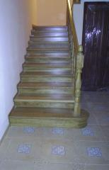 Дубовые лестницы, Лестницы деревянные, деревянные