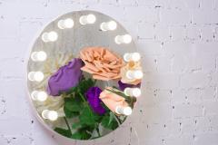 Гримерное зеркало с подстветкой