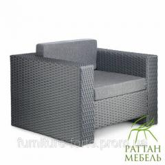 Мебель из искусственного ротанга, Кресло Хай-тек.