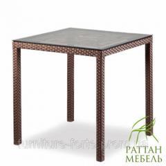 Столы и кресла из ротанга, Стол Милан Мебель из