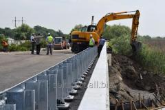 Ограждения мостовые металлические барьерного...