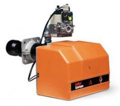 Одноступенчатая газовая горелка (вкл./выкл.) серия SPARKGAS Тепловая мощность от 60 до 358 kW, Способна работать с любым типом камеры сгорания, Ручная регулировка потока, пр-во Baltur (Италия)