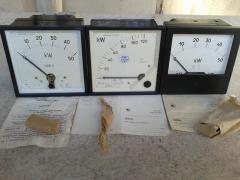 Analogue electrical measuring instruments