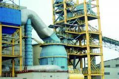 Вертикальная мельница используемая в добывающей