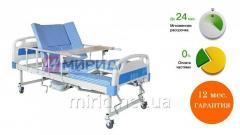 Медицинская кровать с туалетом. Функциональная, механика. Реабилитация, уход за инвалидом