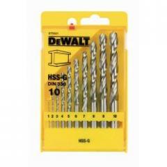 Набор сверл по металлу DeWALT DT5921, 1-10мм, 10 шт.