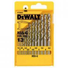 Набор сверл по металлу DeWALT DT5922 1.5-6.5мм, 13шт.