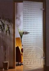 Glass doors, glass partitions