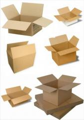 Boxes from the microcorrugated cardboard
