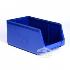 Bandeja de plástico (500h300h250 mm) azul
