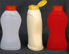 Бутылки из пластика