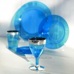 Бокалы винные одноразовые пластик качественные