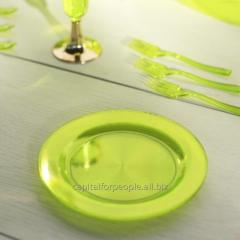 Тарелка термостойкая крепкая полированная