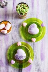 Тарелка одноразовая десертная красивая пластиковая