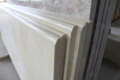 Window sills from marble