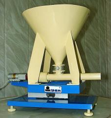 Batchers. Dosing processing equipment. Processing