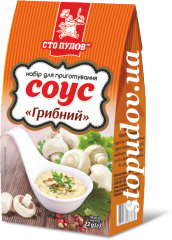 Mushroom sauce, 22 g of