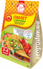 Omelet with vegetables, 83 g
