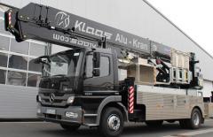 Автокран с платформой K 900 RSX - KLAAS на шасси Mercedes 16.24 Atego