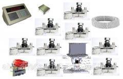 Комплект электронного весового оборудования для