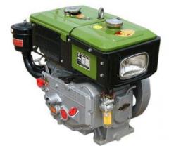Двигатель ZUBR SH190NDL (дизель, электростартер,