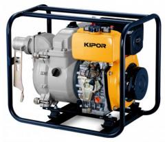 Мотопомпа Kipor KDP30T (дизель, 80 мм, 90 куб.м/ч,