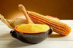 Corn grits large wholesale. Export.