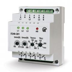 Электронный переключатель фаз ПЭФ-301 (16А)