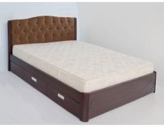 """Кровать двуспальная деревянная """"Амелия"""""""