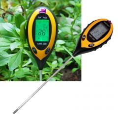 Аналізатор показників ґрунту (щуп агронома) 4 в 1,