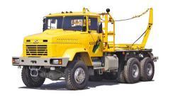Лесовозный тягач КрАЗ 64372 IK
