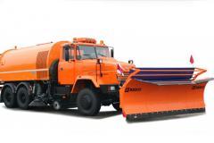 Комбинированная дорожная машина КрАЗ 65032