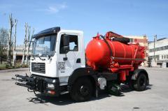 Комбинированная уборочная машина КрАЗ 6511Н4\