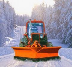 Снегоуборочный отвал бабочка 1.7м и 2.1м