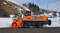 Самоходный фрезерно-роторный снегоочиститель ZAUGG