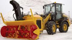 Фрезерно-роторный снегоочиститель LARUE D25