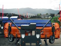 Оборудование снежных отвалов Riko Ribnica