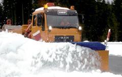 Односекционные снегоуборочные отвалы серии SB
