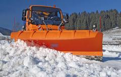 Односекционные снегоуборочные отвалы серии SNK