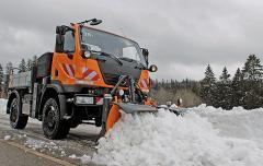 Односекционные снегоуборочные отвалы серии CPM