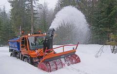 Навесные шнеко-роторные снегоочистители серии FS