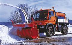 Навесной шнеко-роторный снегоочиститель серии VF-Z
